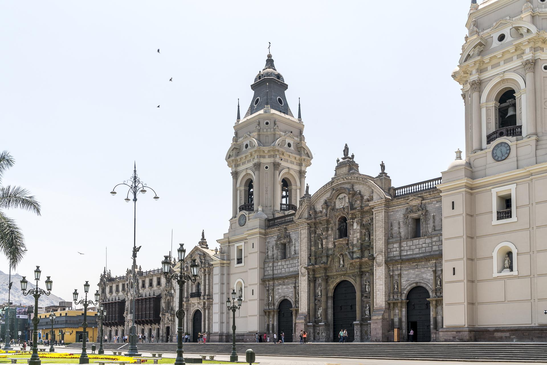 Sehenswürdigkeiten im Zentrum von Lima