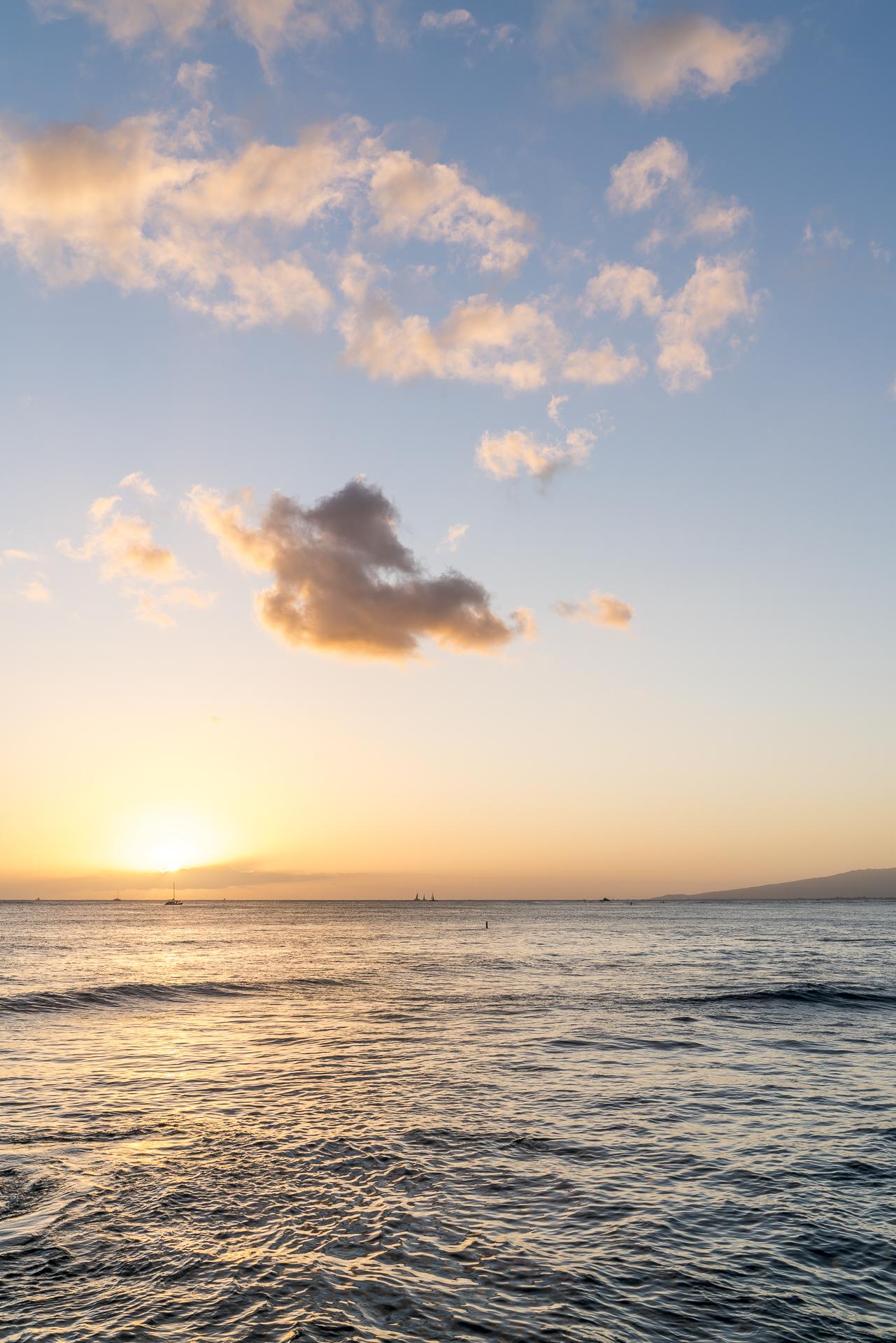 Abendstimmung Waikiki Oahu
