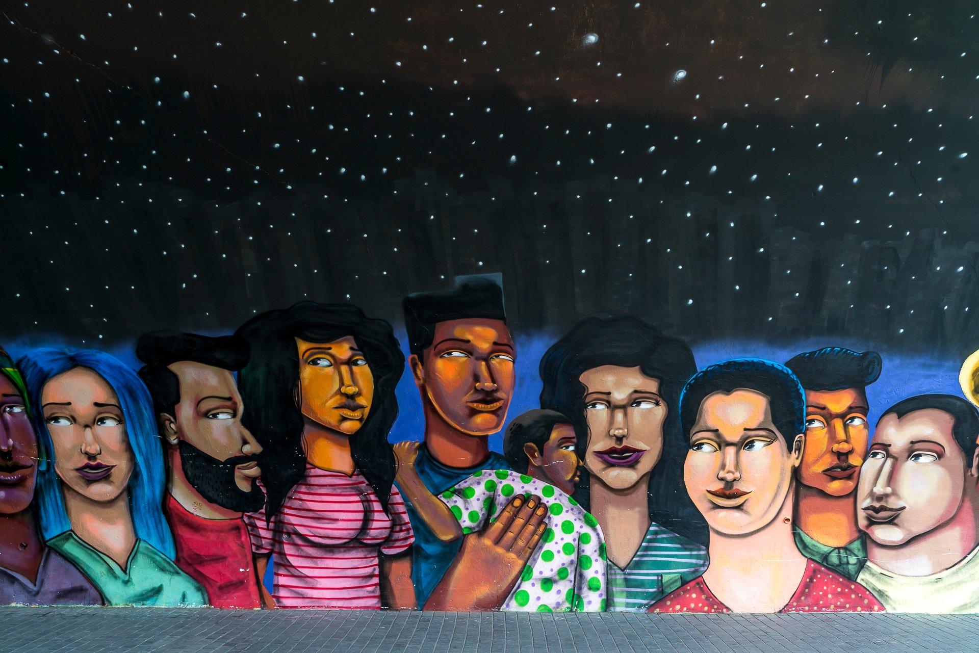 Street Art in Barranco Lima