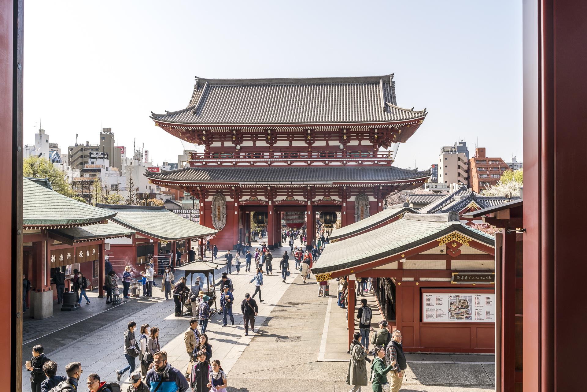 Asakusa Schrein Tokio