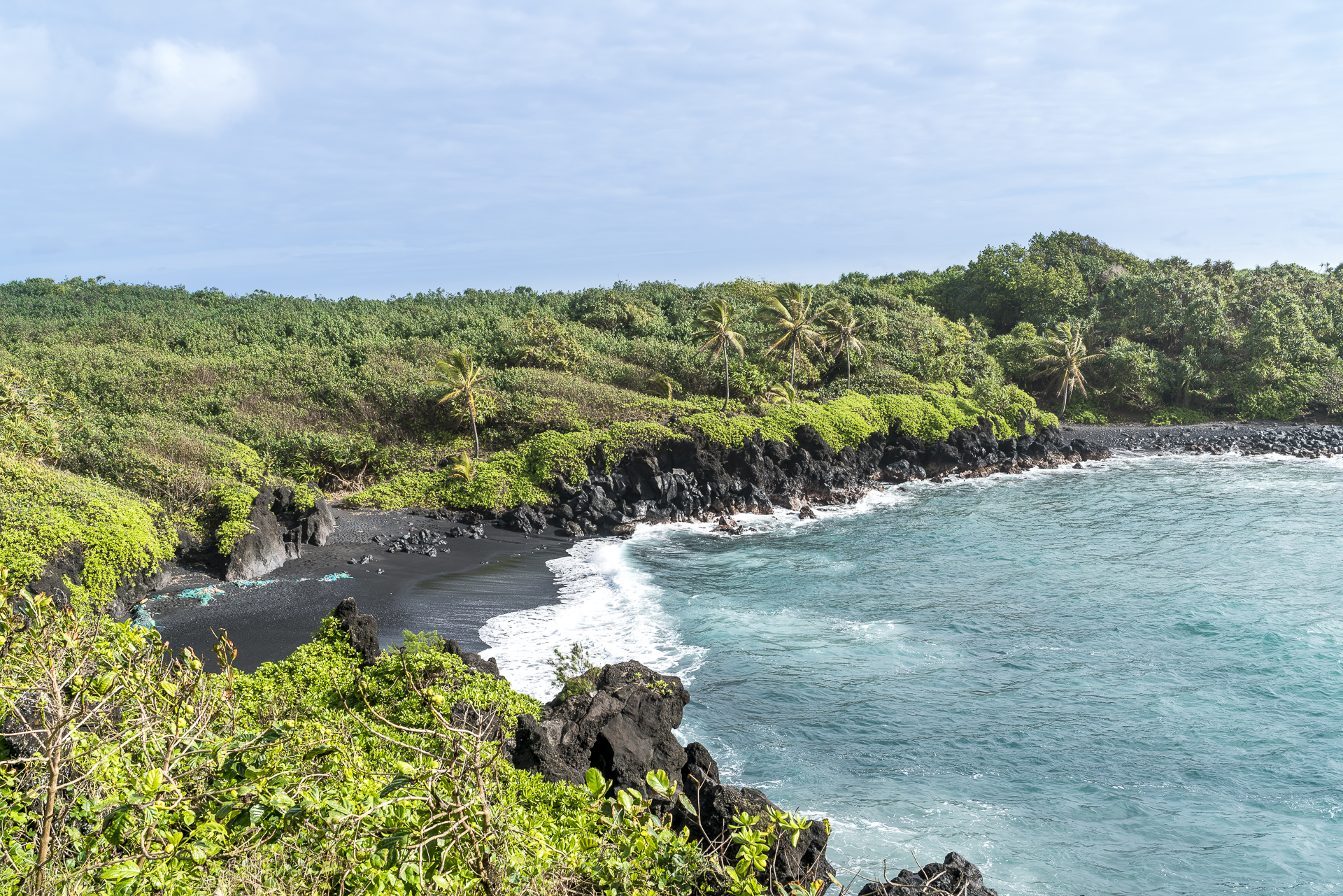 Black Sand Beach Hana