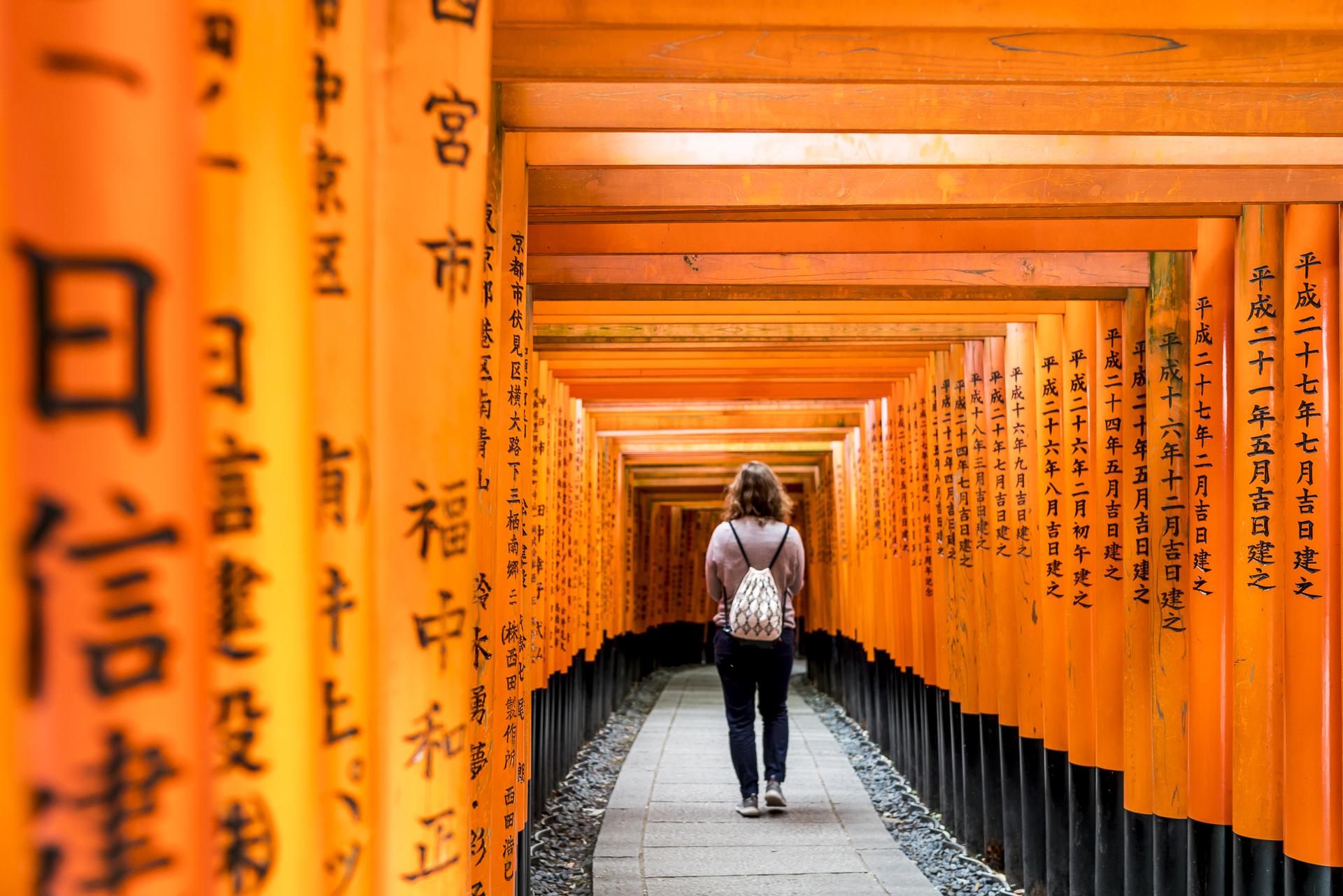 Fushimi Inari Taisha entdecken