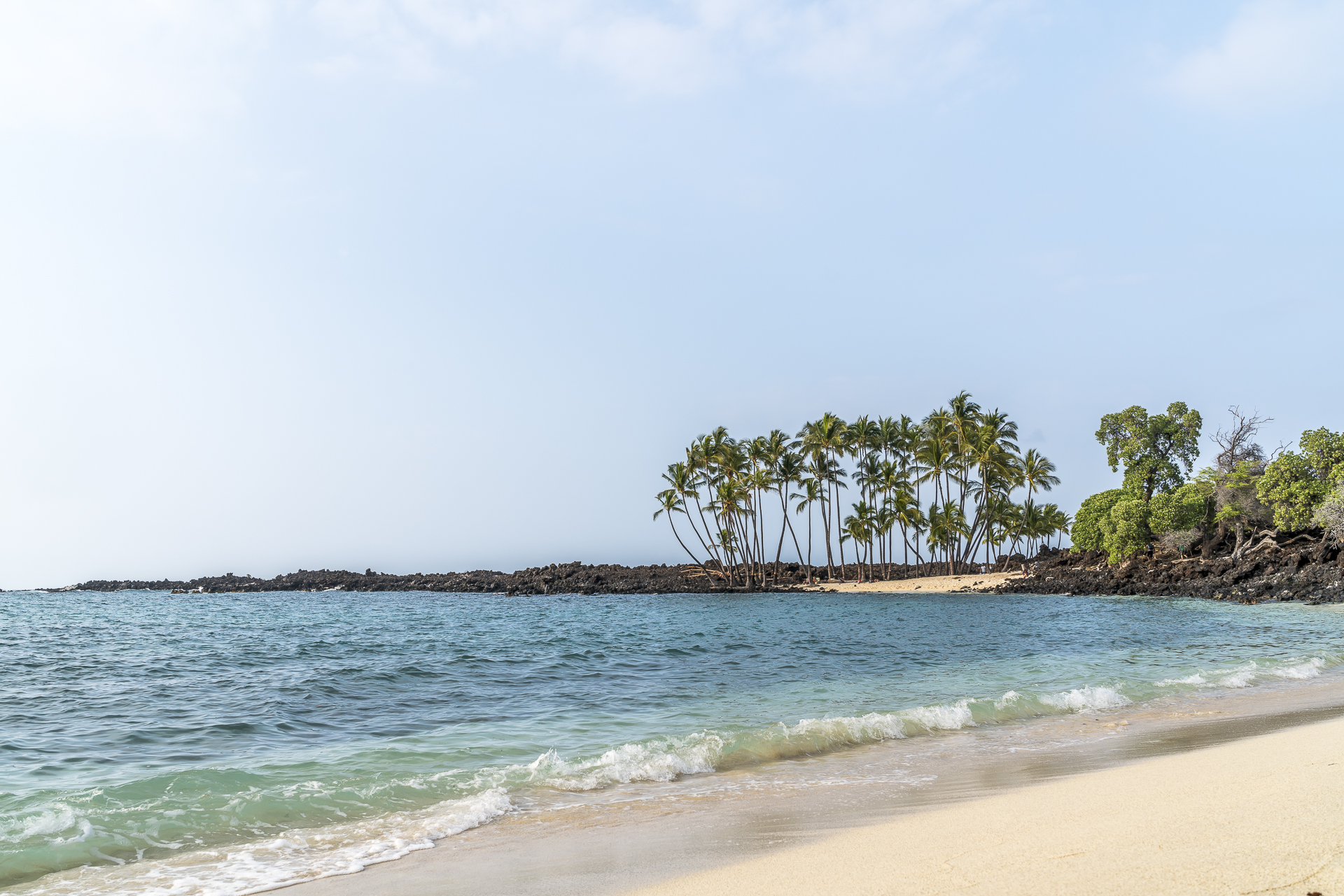 Mahailua Beach Park Big Island