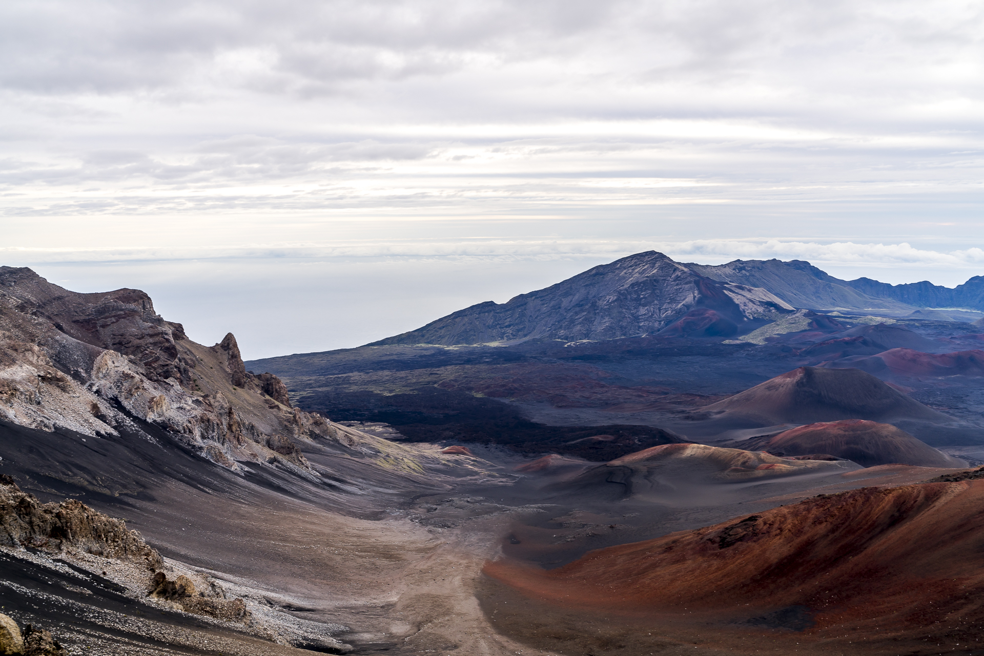 Maui Haleakala Krater