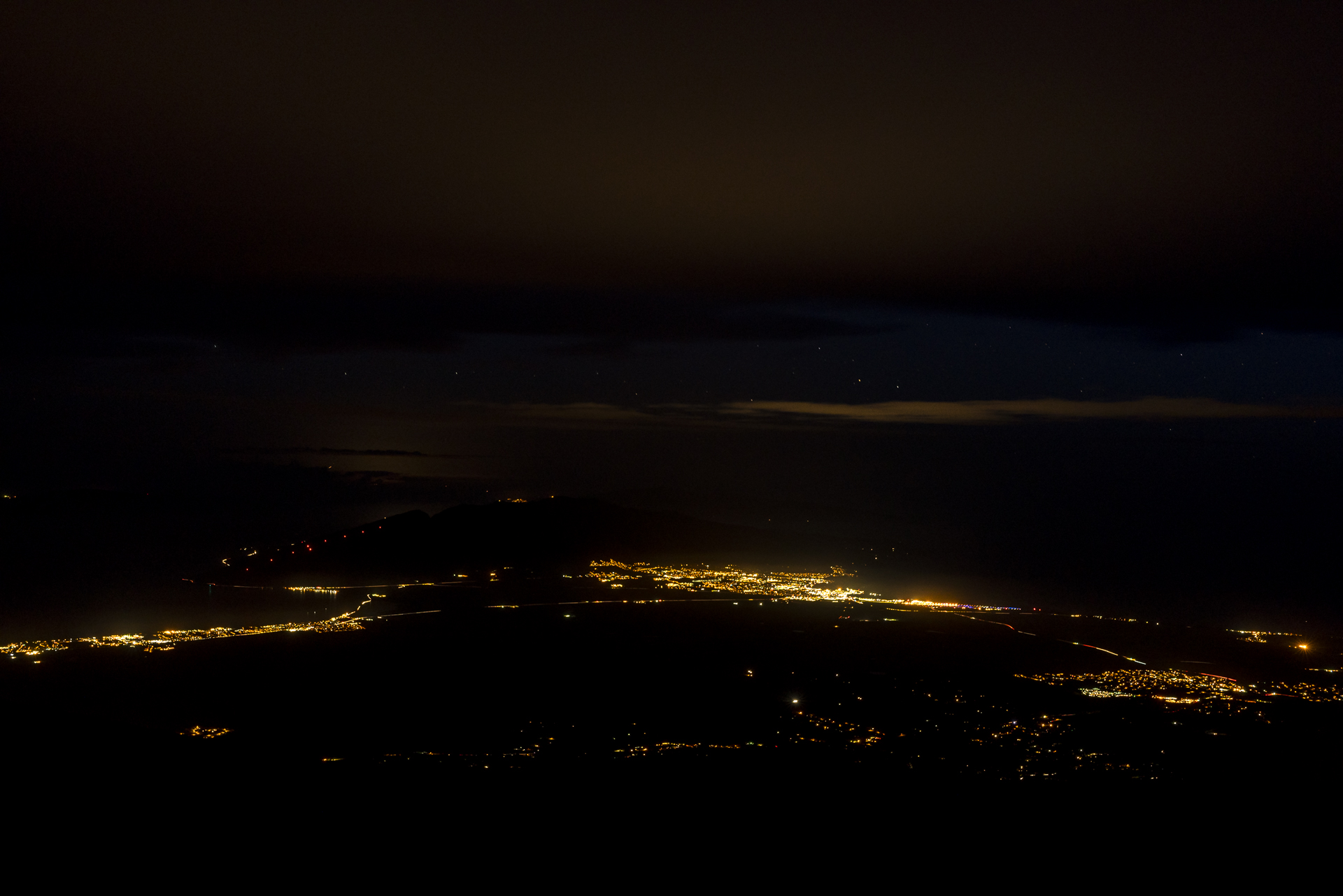 Maui by night