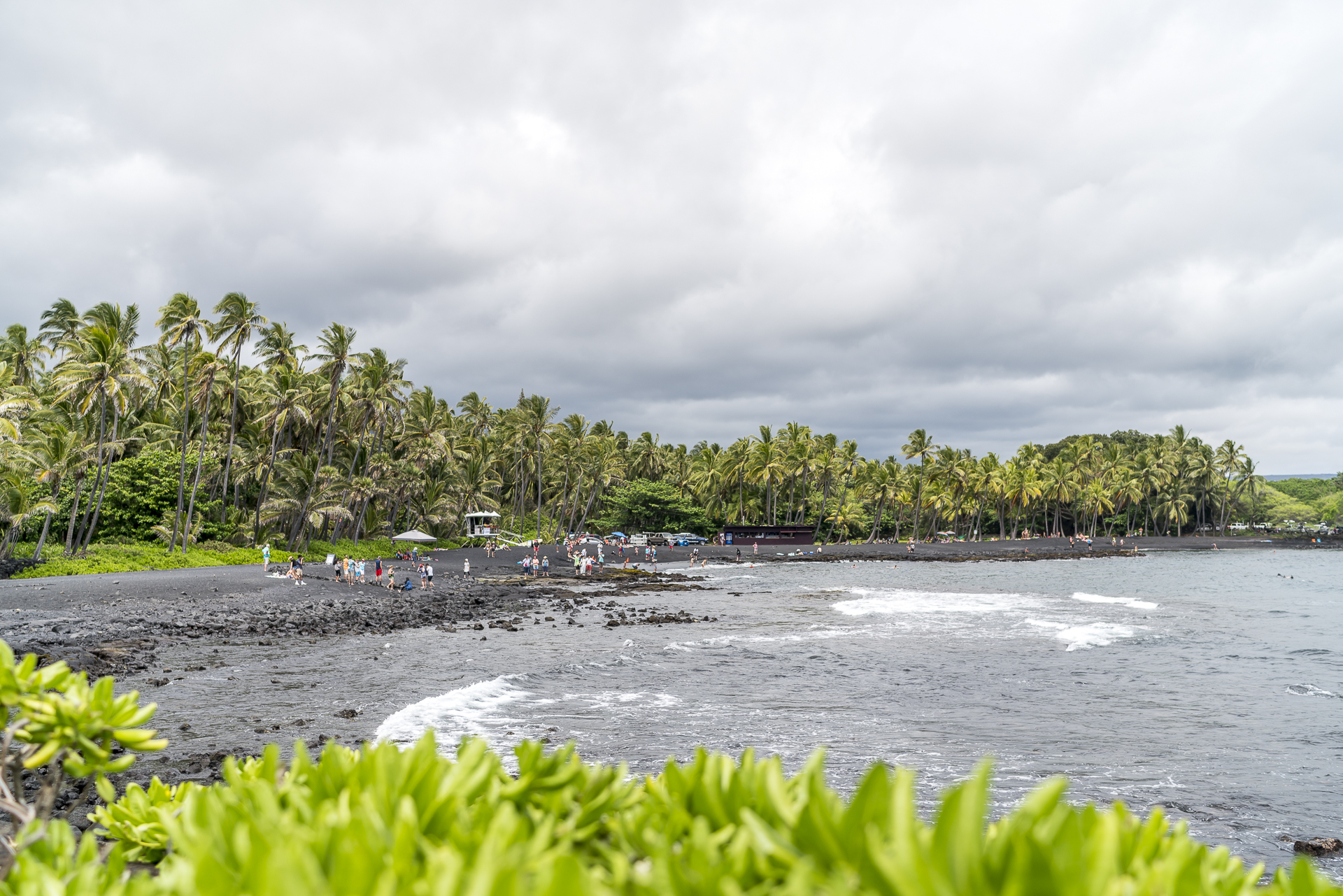 Punalu Black Sand Beach
