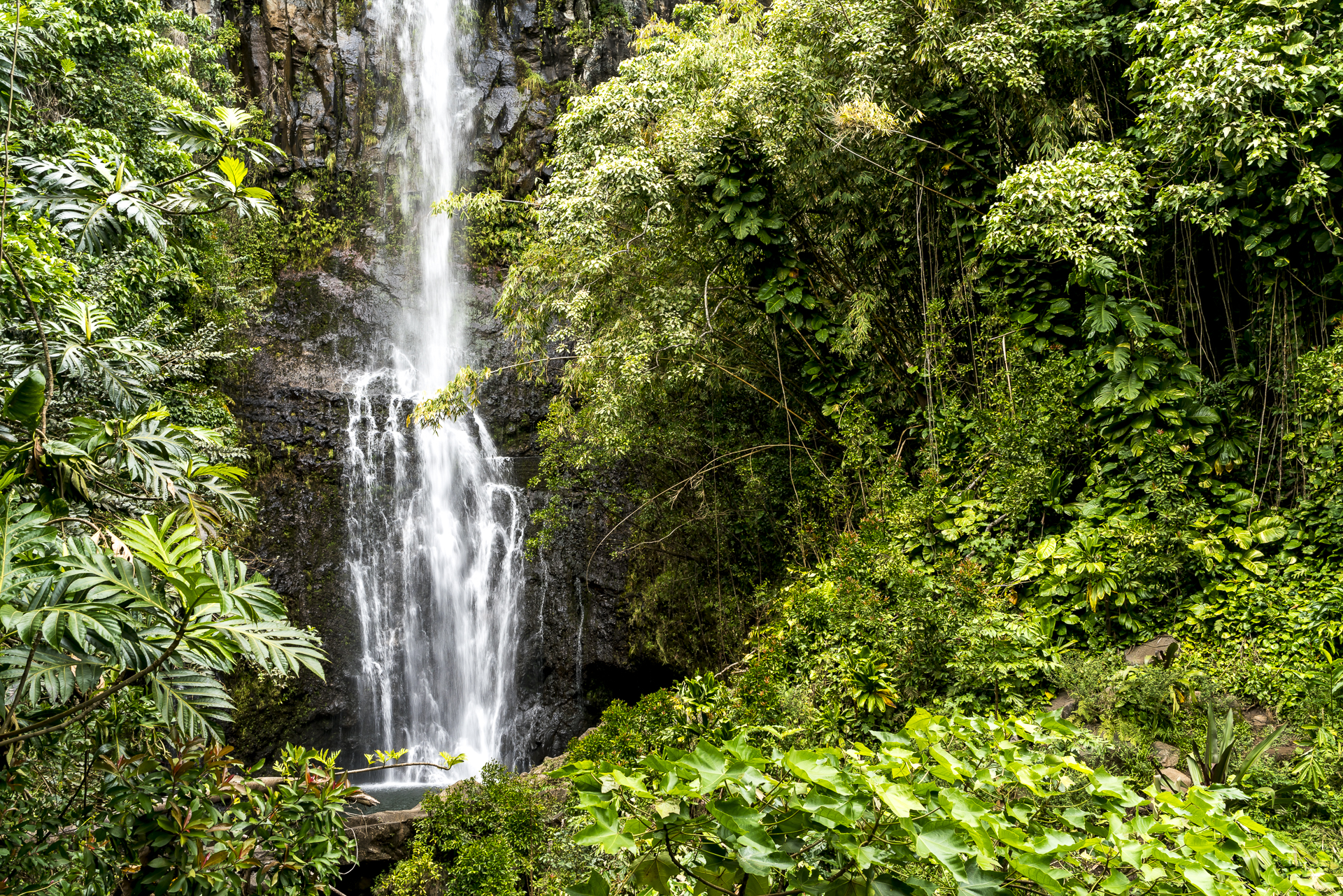 Maui Road to Hana Wasserfälle