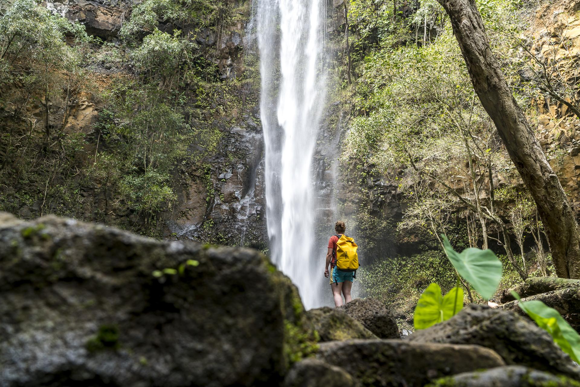 Secret Waterfall Kauai Wailua