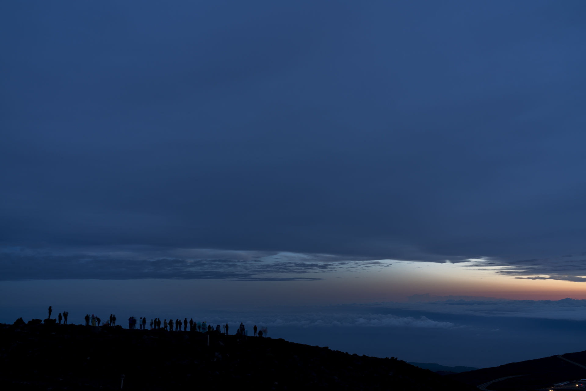 Sonnenaufgang Haleakala Nationalpark