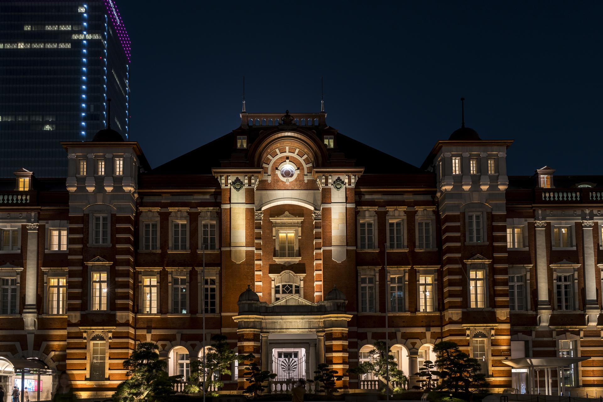 Tokyo Station Nachtaufnahme