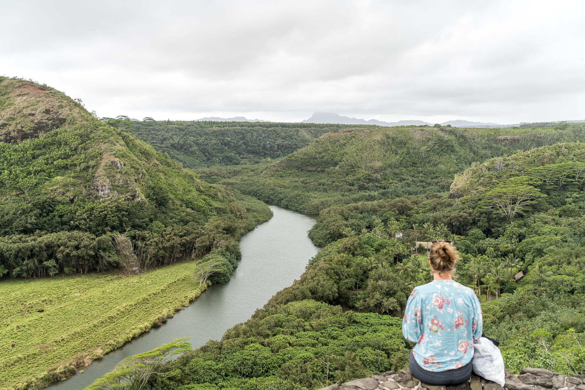 Wailua Valley Lookout