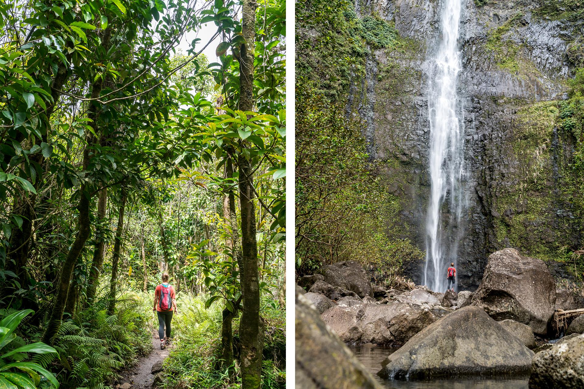 Wanderung zum Hanakapiai Wasserfall