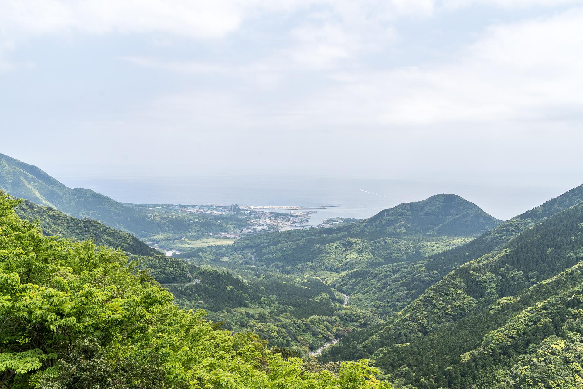 Blick auf Miyanoura Yakushima