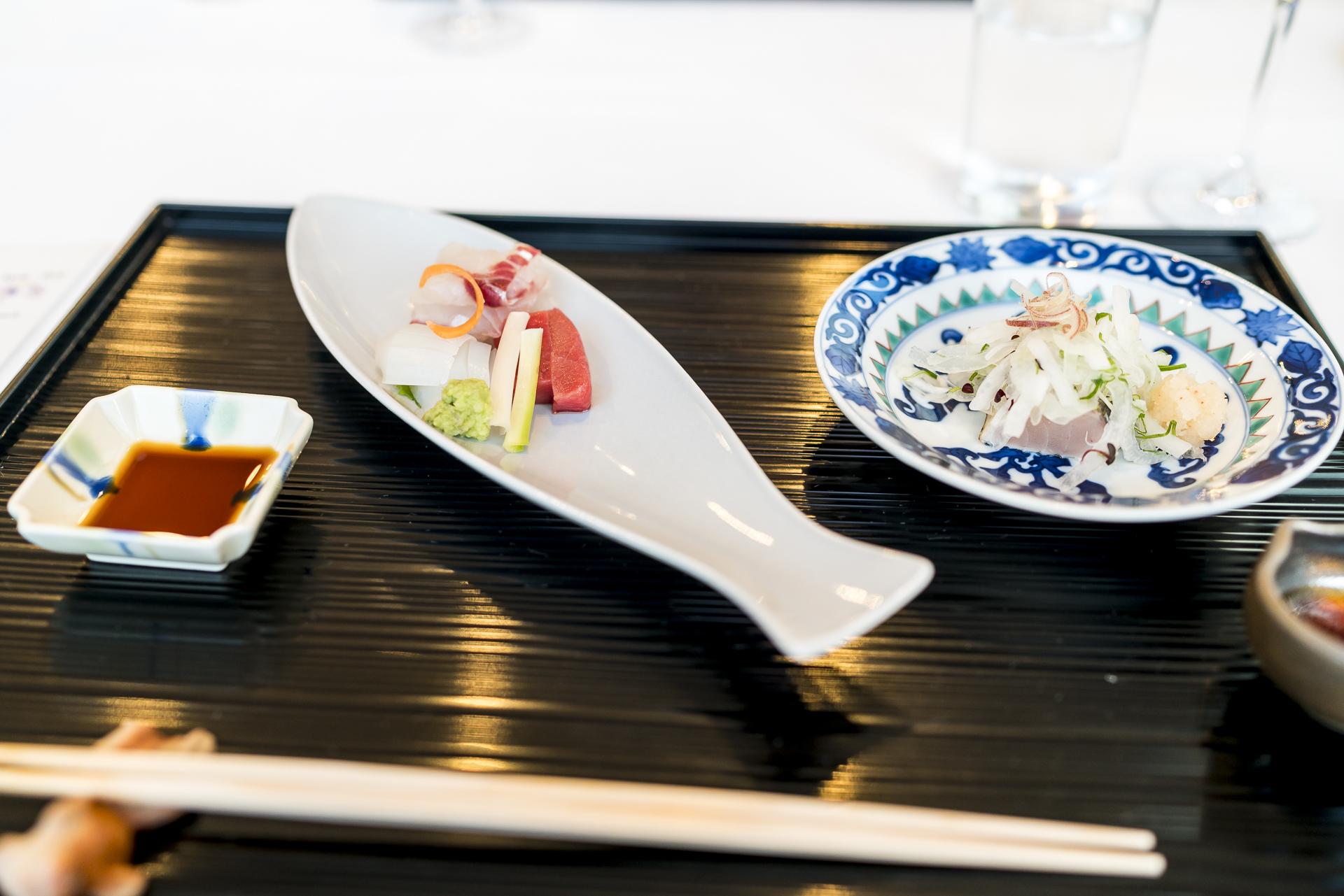 Dinner im Benesse House Museum Restaurant Issen