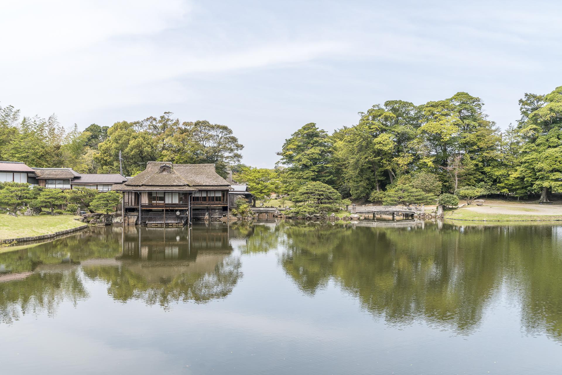 Genkyu-en Garten in Hikone