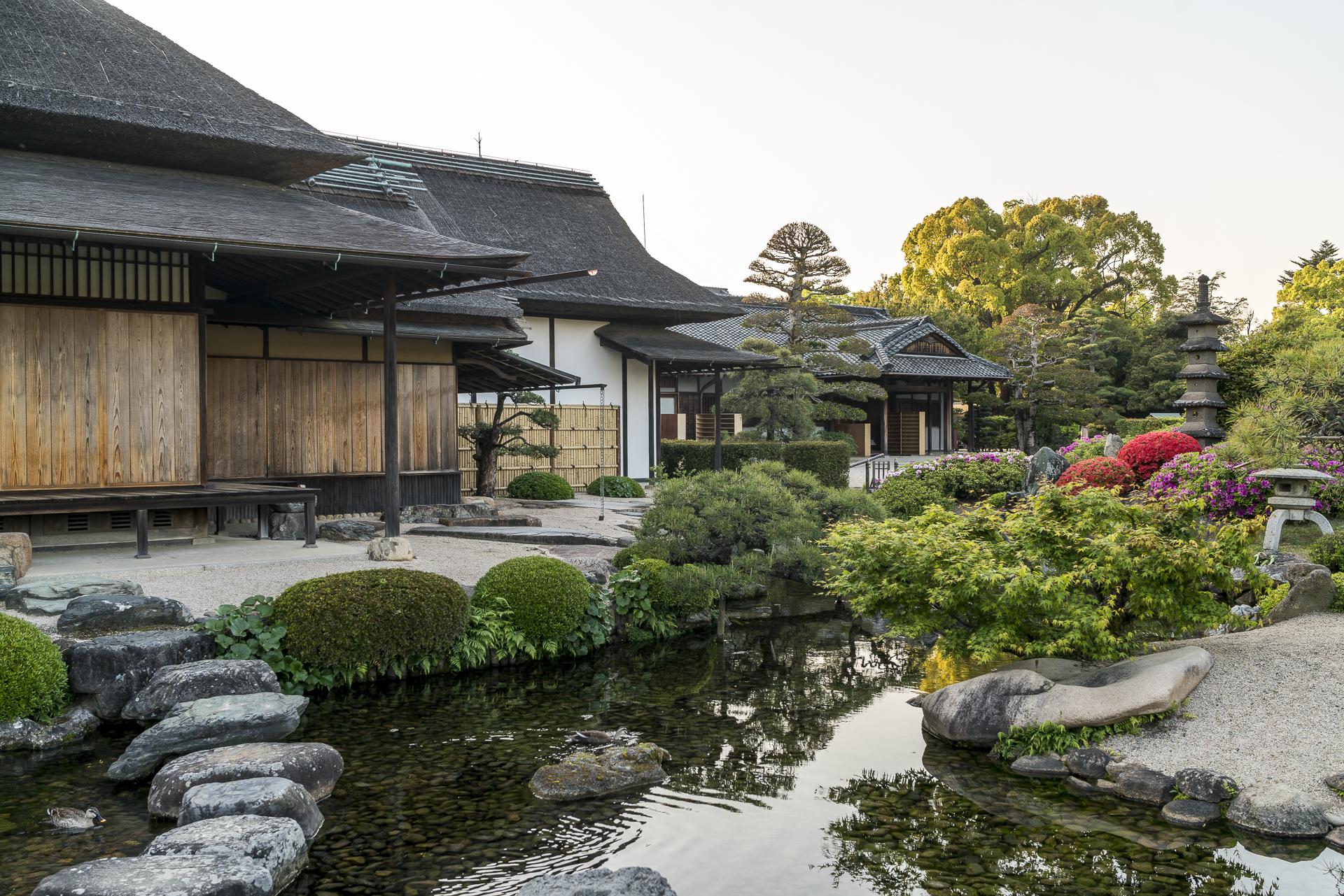 Koraku-en-Gartenanlage