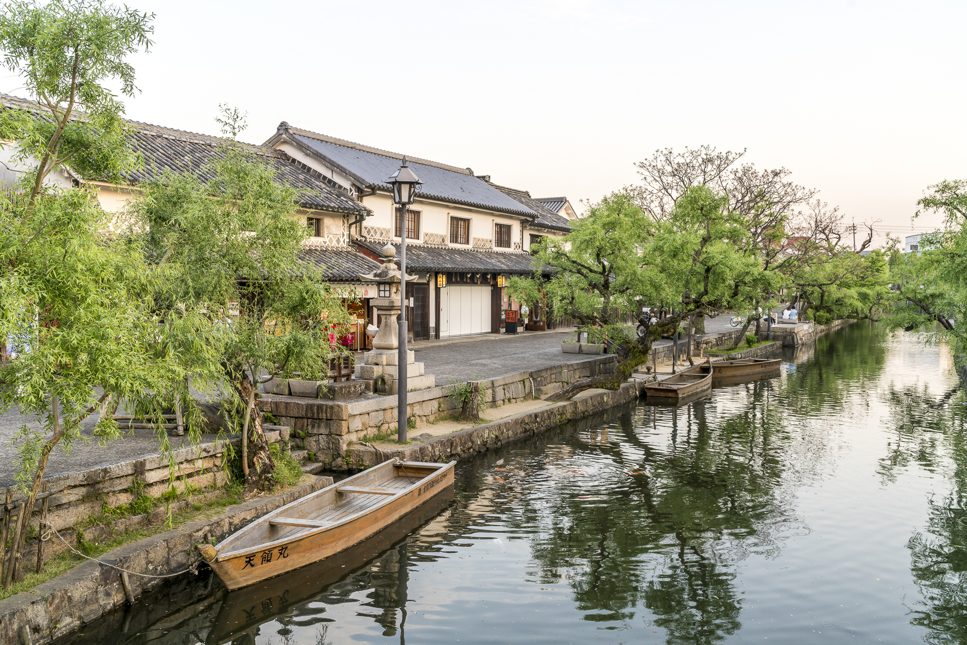 Kanäle in Kurashiki