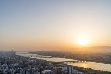 Osaka Umeda Tower View