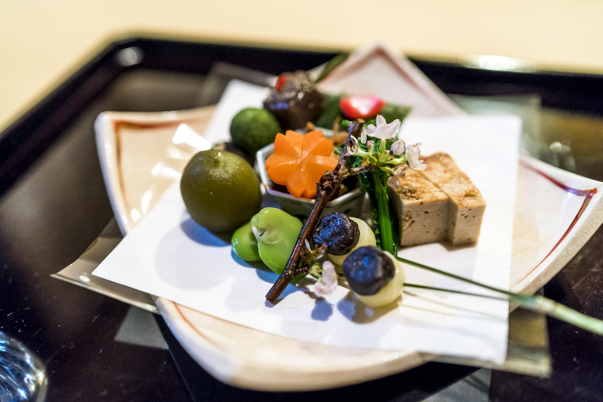 Restaurant Kakusho Kaiseki Menu in Takayama