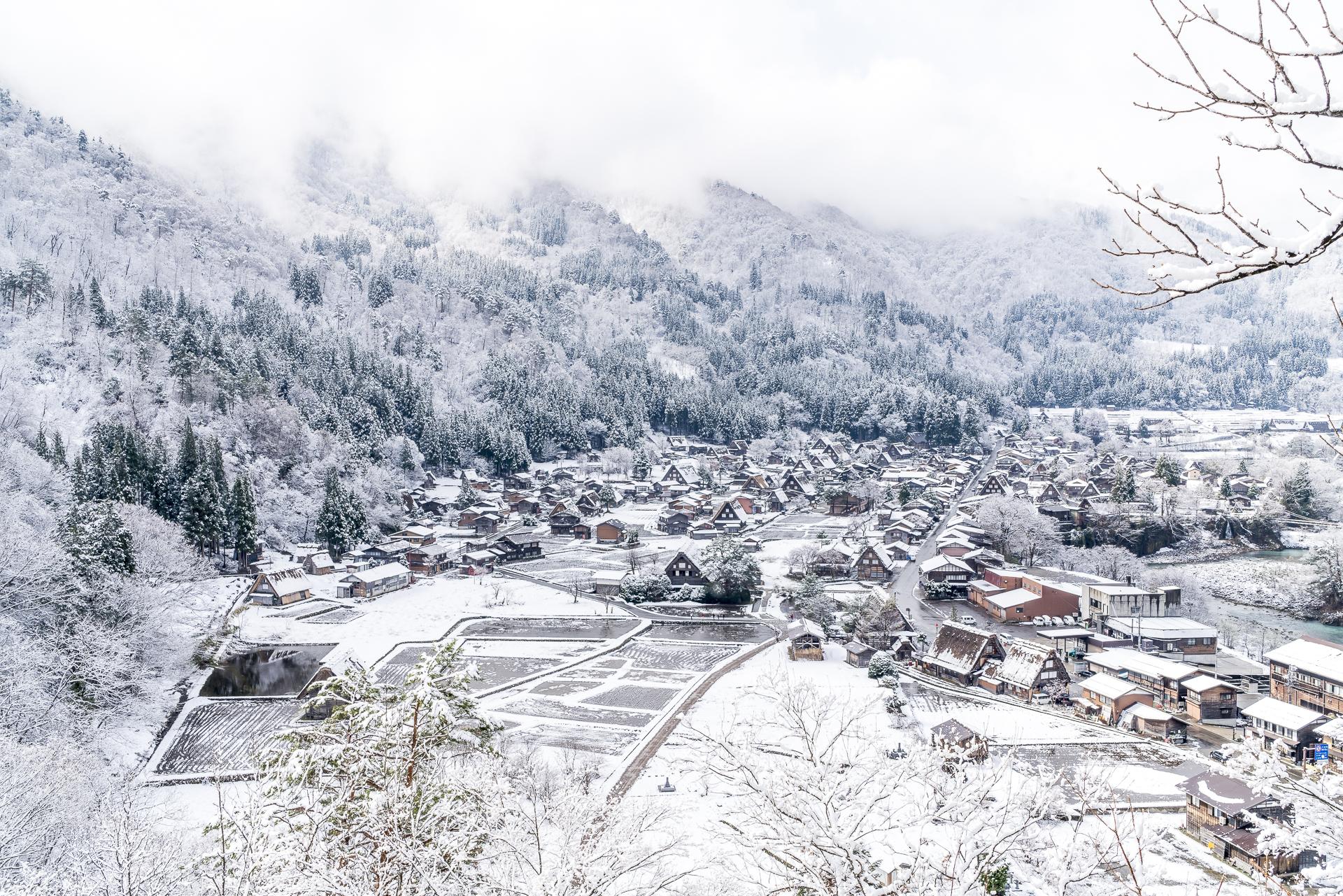 Shirakawa-go Japanreise Unesco Welterbe