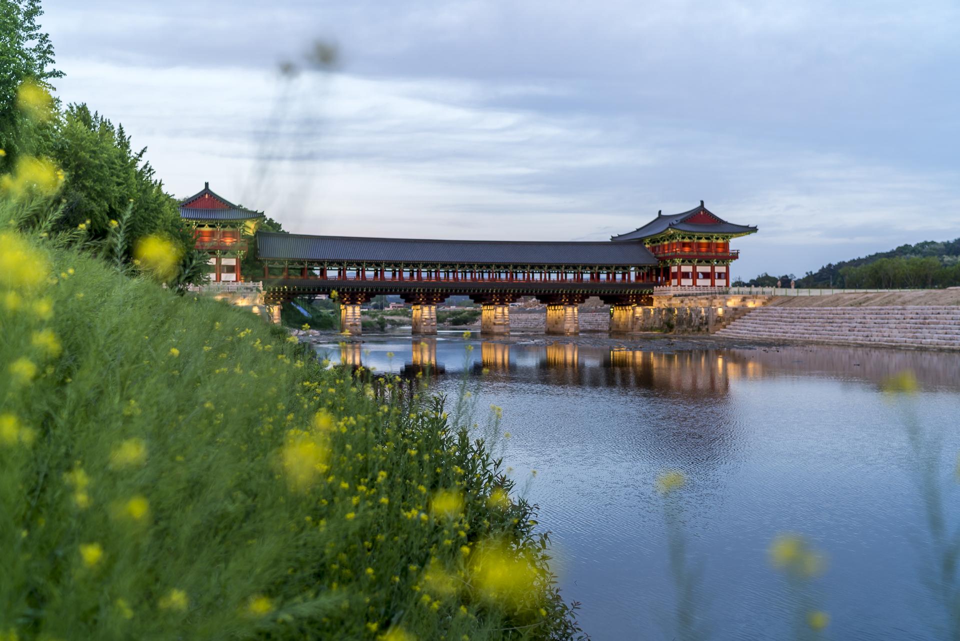 Woljeongbrücke Südkorea