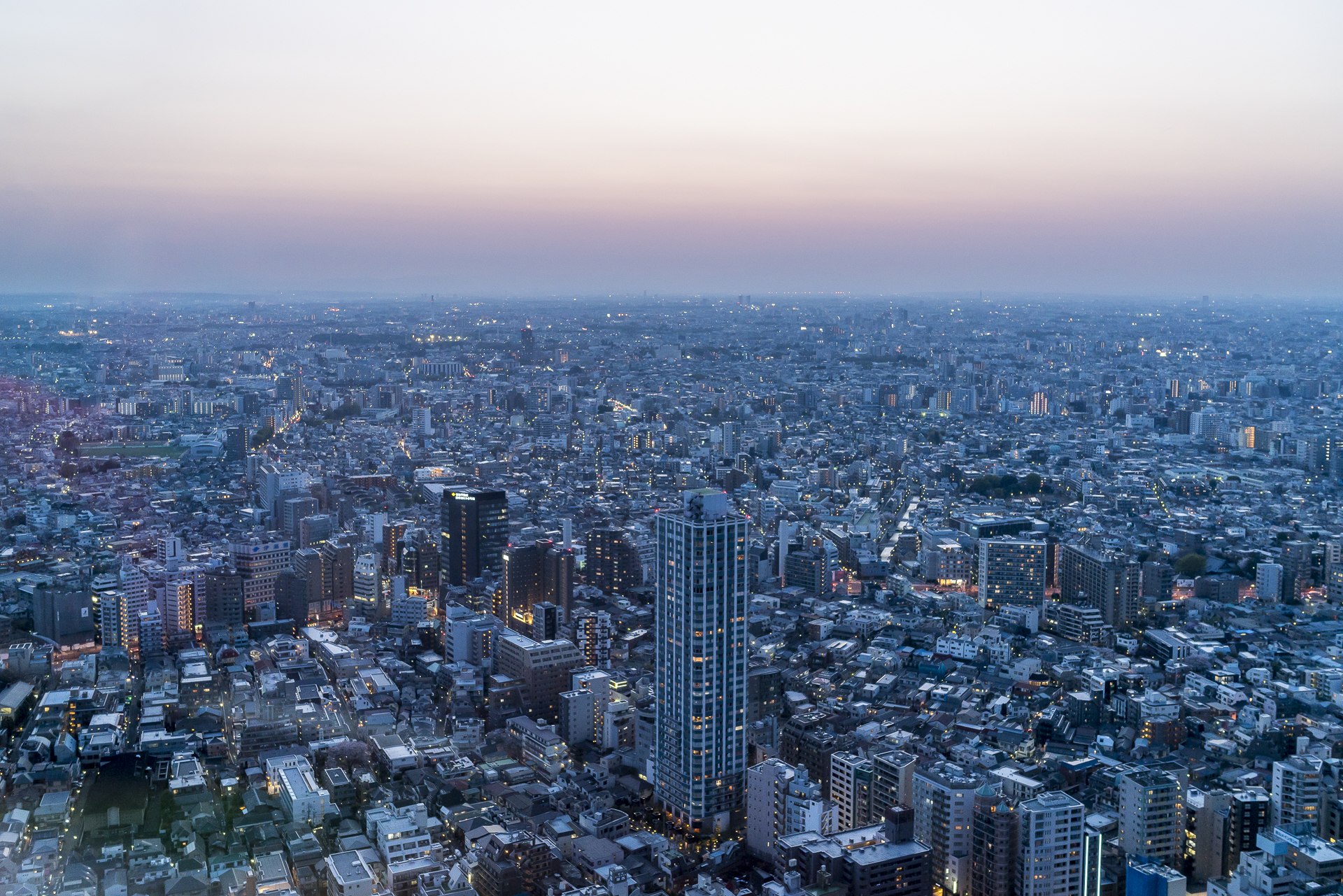 Tokio Aussicht Umeda Tower