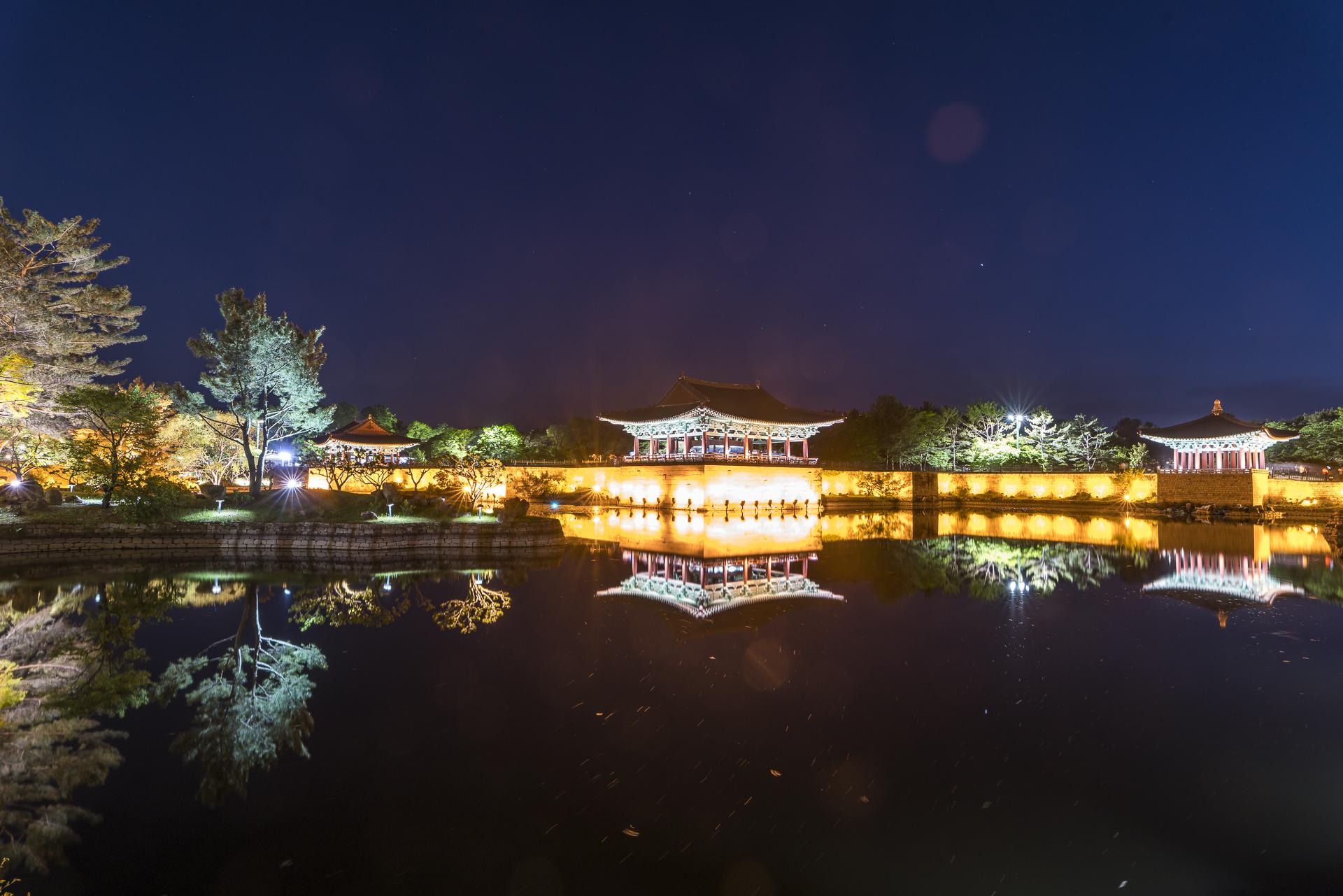 Wolji Palast Gyeongju