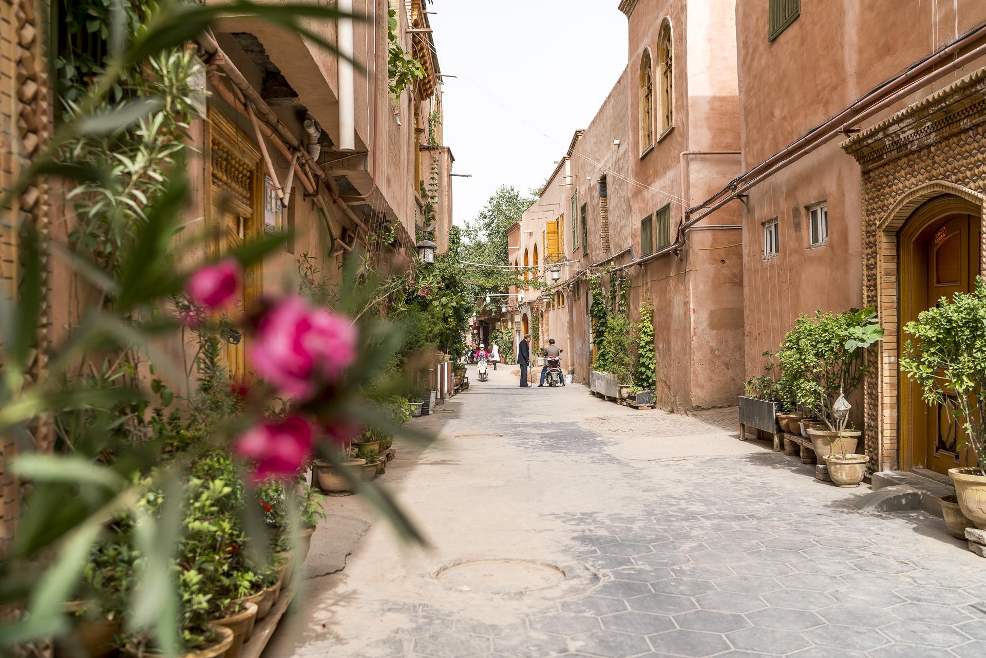 Altstadtgassen in Kaschgar
