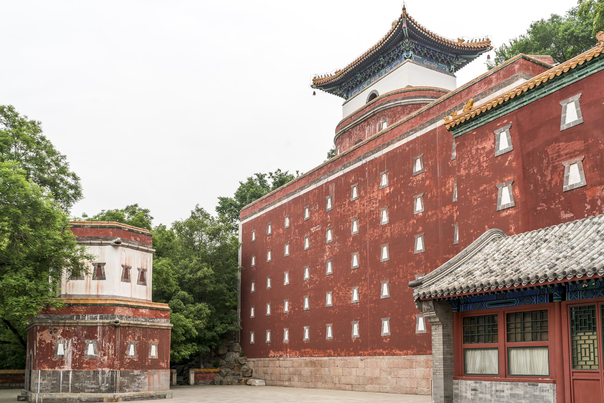 Architektur Sommerpalast Peking