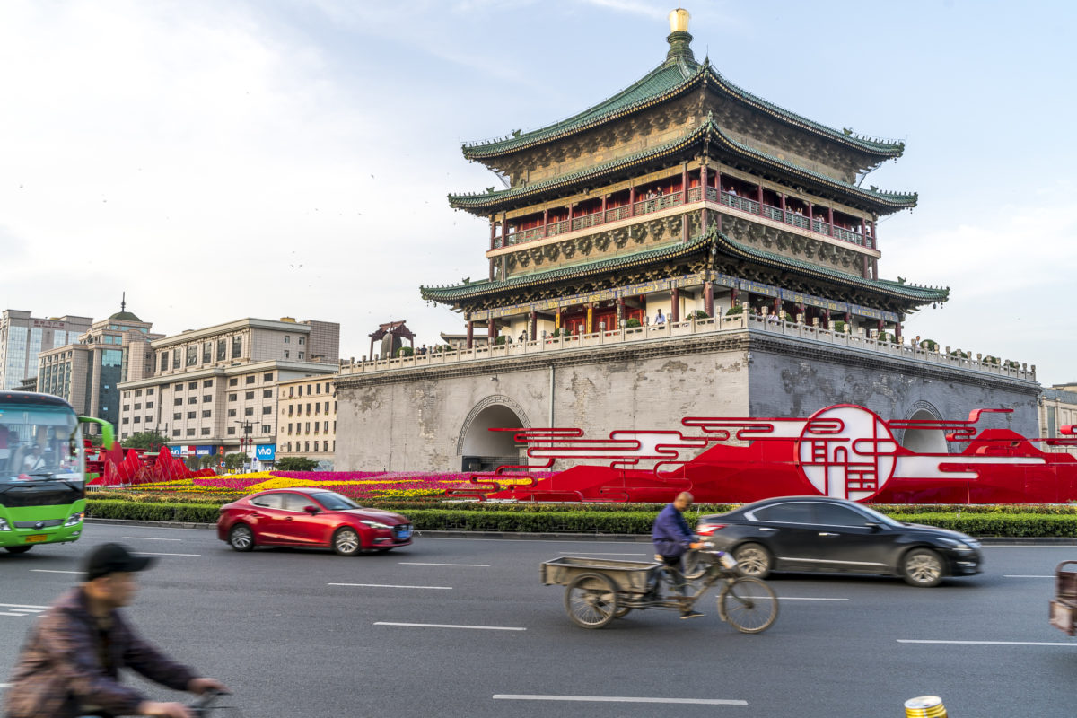 Xi'an: Startpunkt unserer Reise entlang der Seidenstrasse