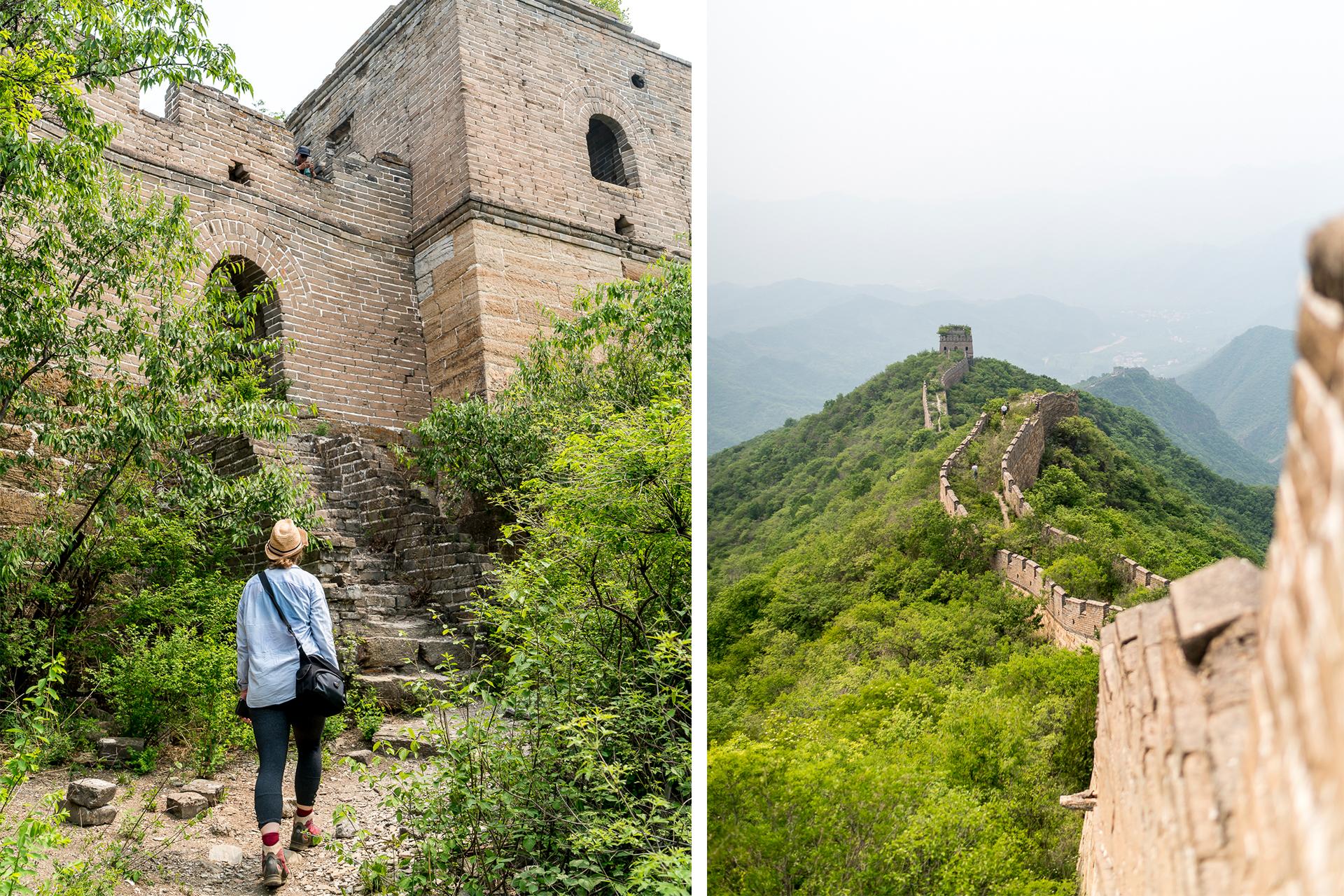 Zur Grossen Mauer Wandern