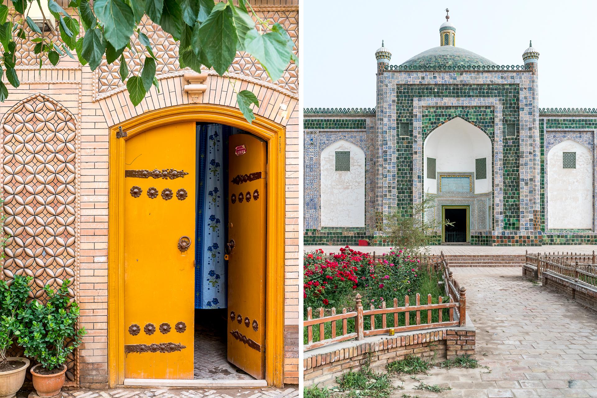 Architektur in Kaschgar