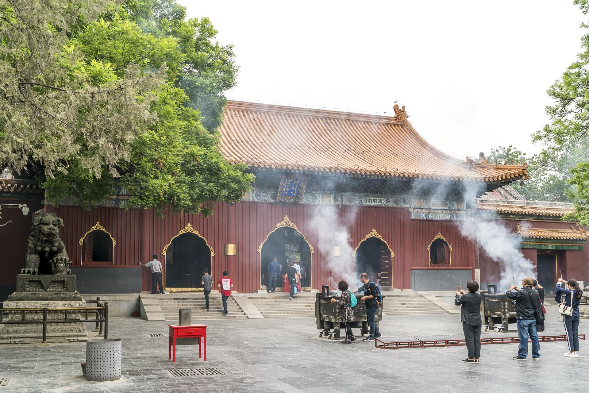 Lamatempel Peking