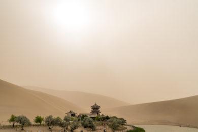 Dunghuan Seidenstrasse Oase