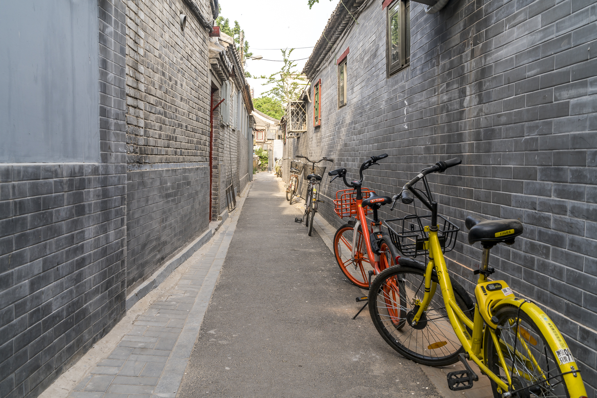 Hutong in Peking