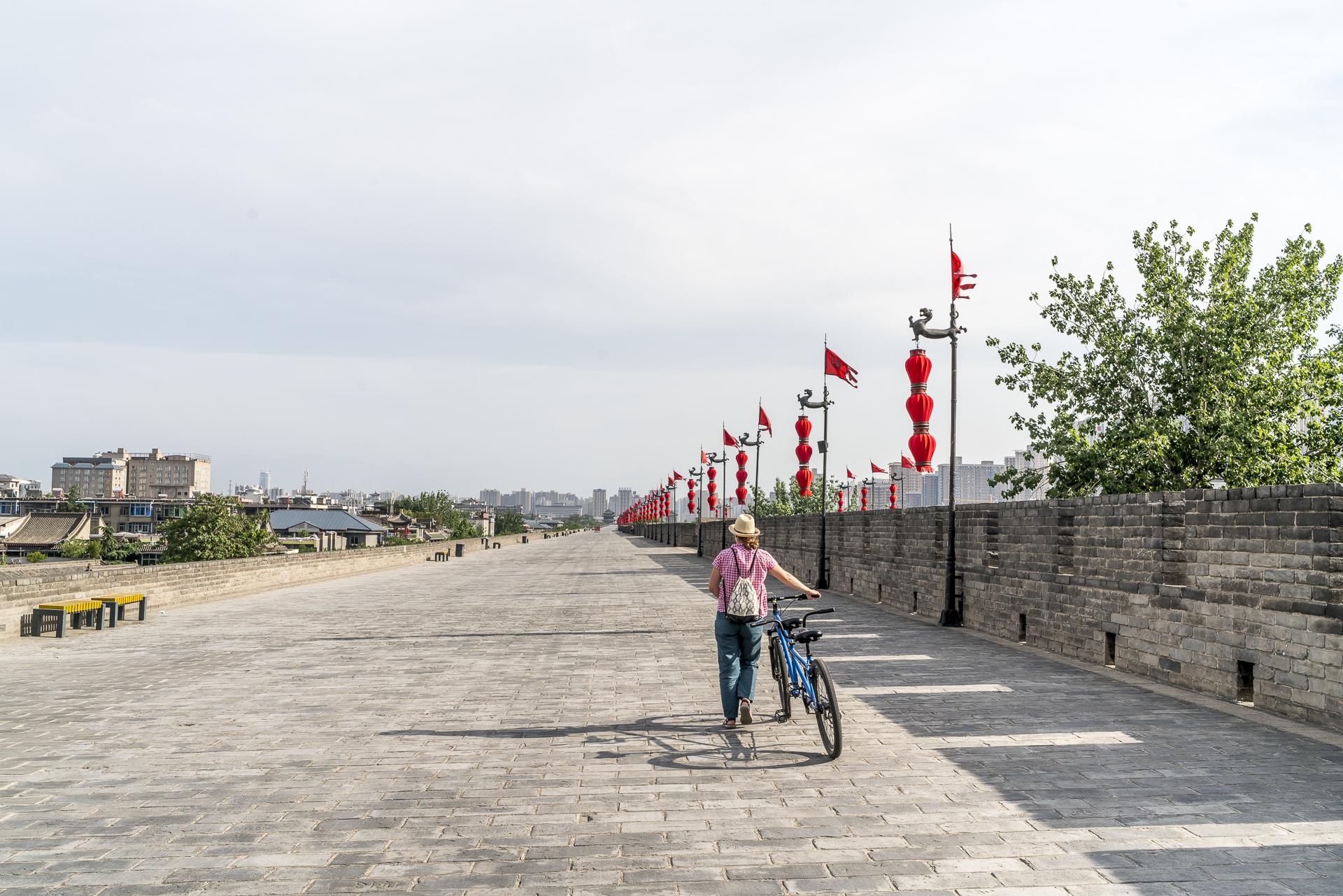 Radfahren in Xi'an