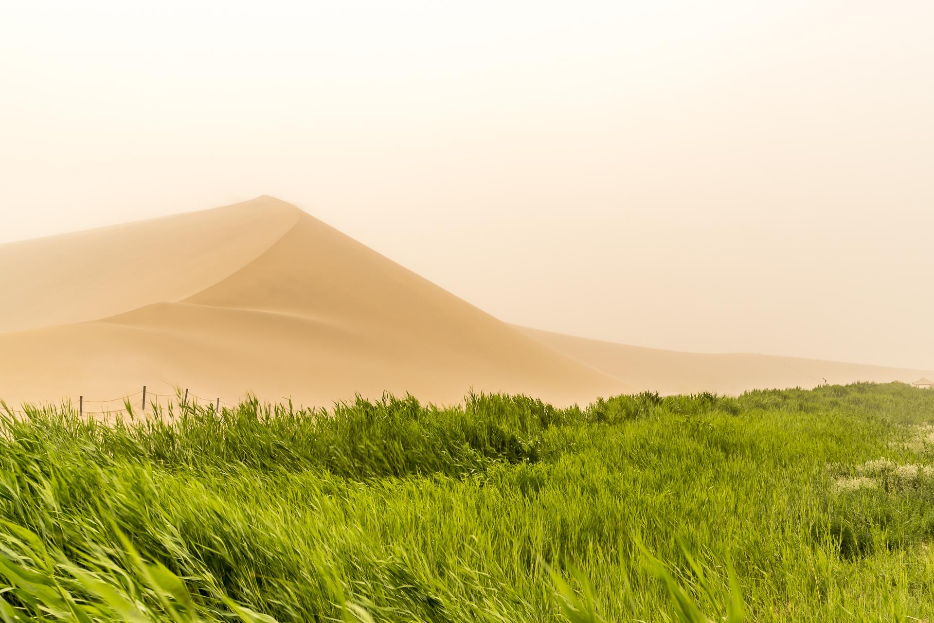 Singende Düne in Dunhuang