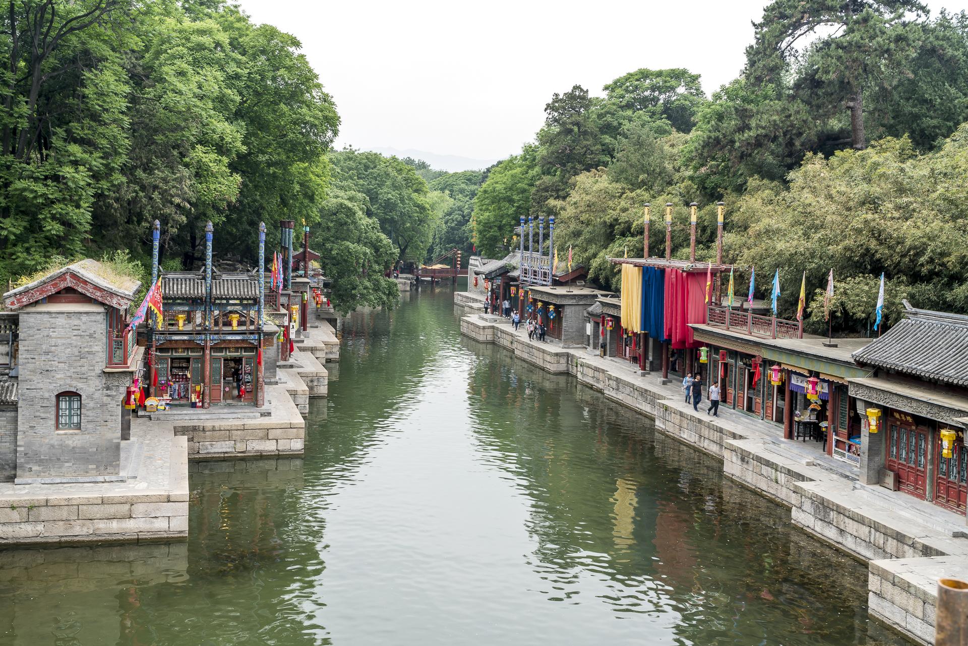 Peking Sommerpalast Kanal