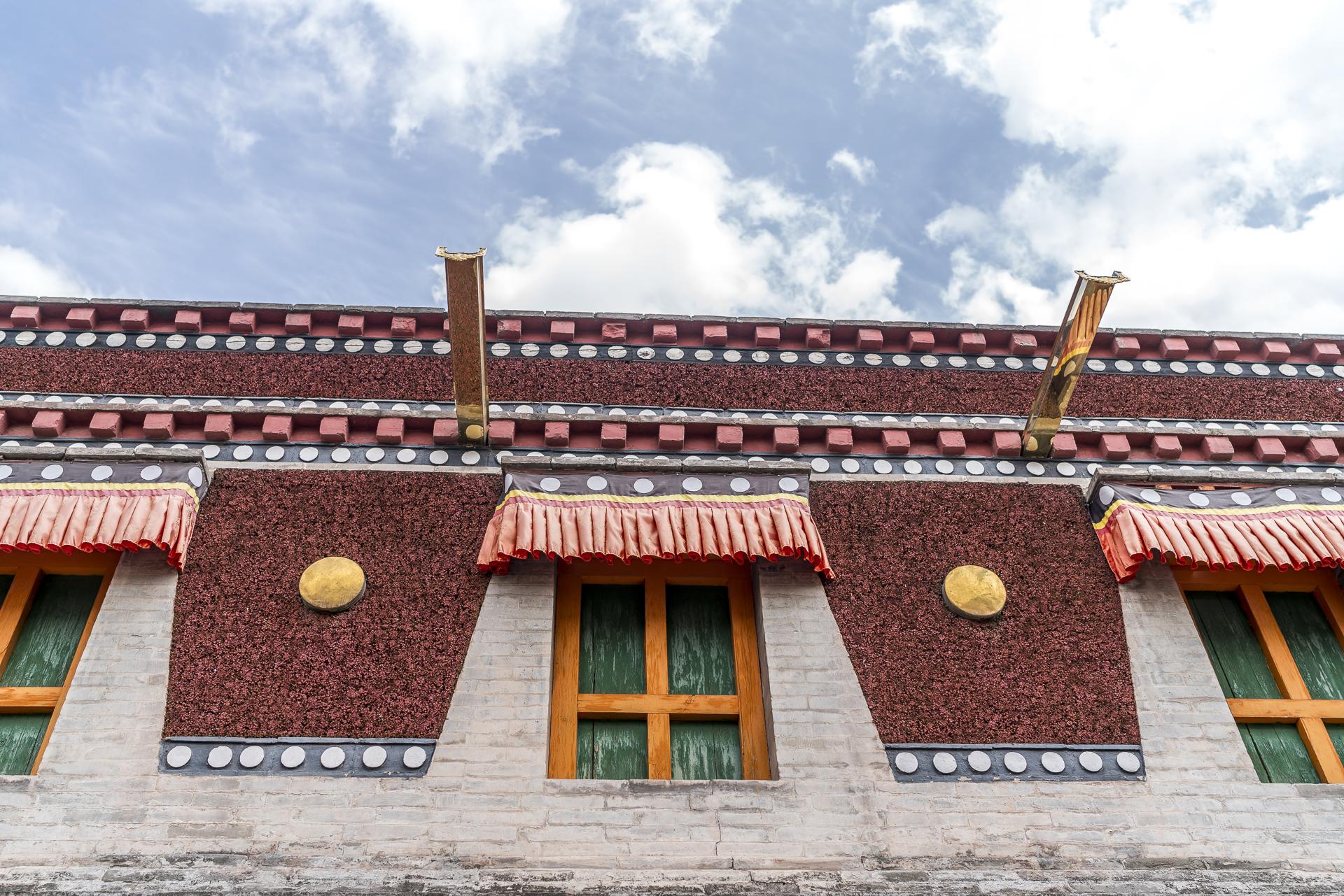 Tibetisches Kloster in Xining