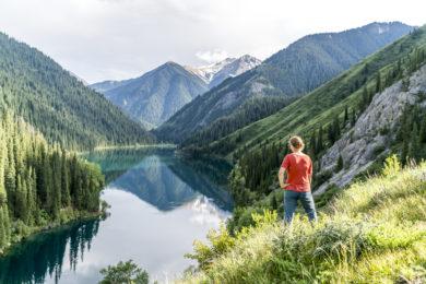 Bergsee in Kasachstan