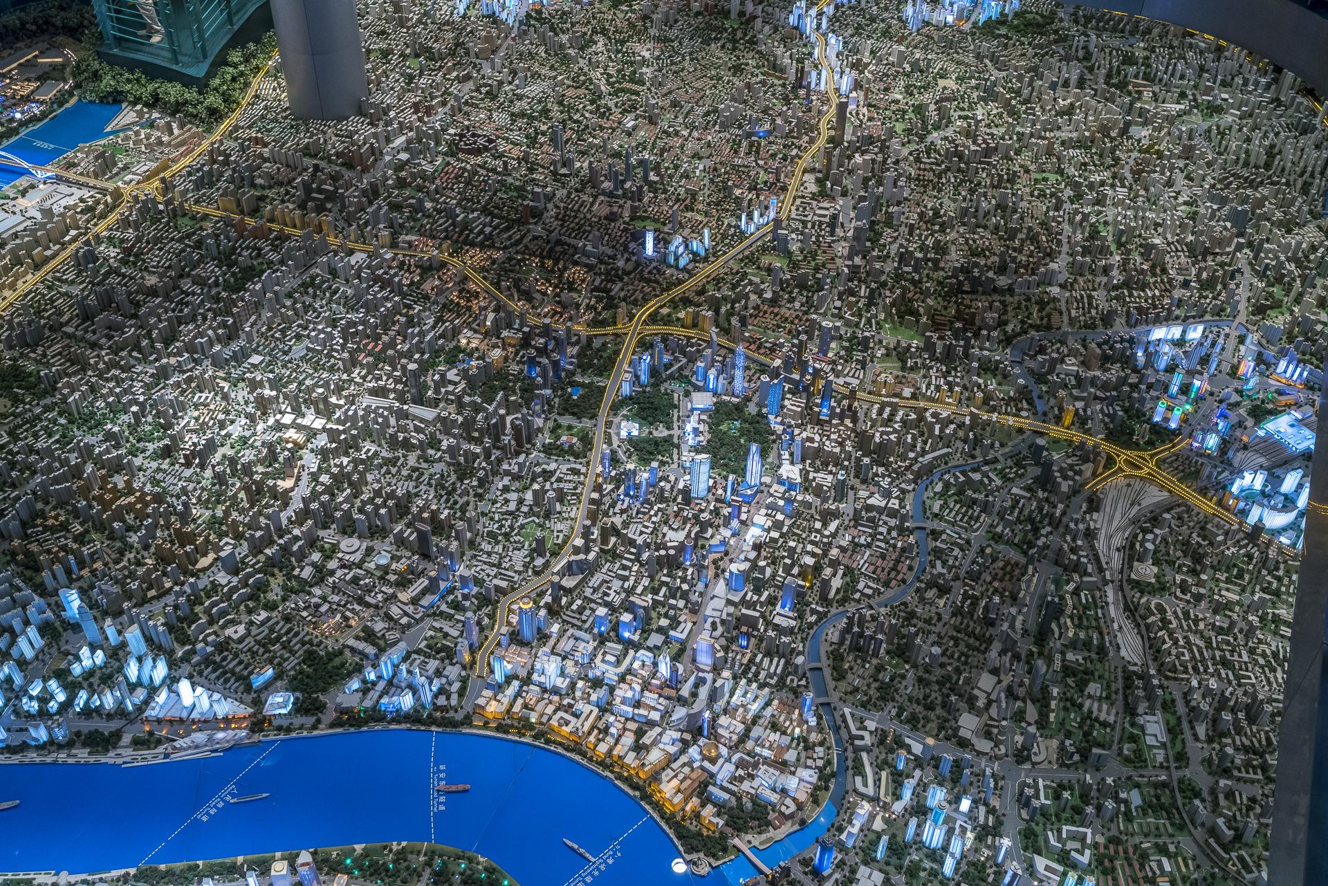 Urban Planning Ausstellung Shanghai