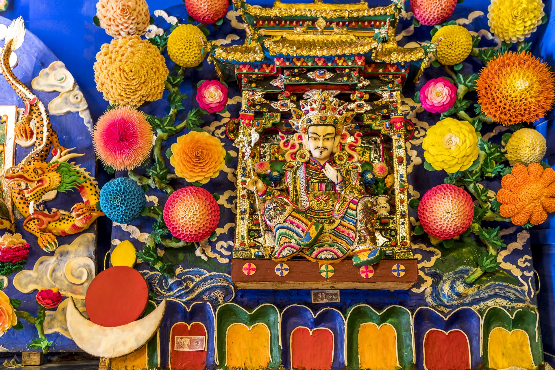 Tibetische Yakbutter Kunstwerke