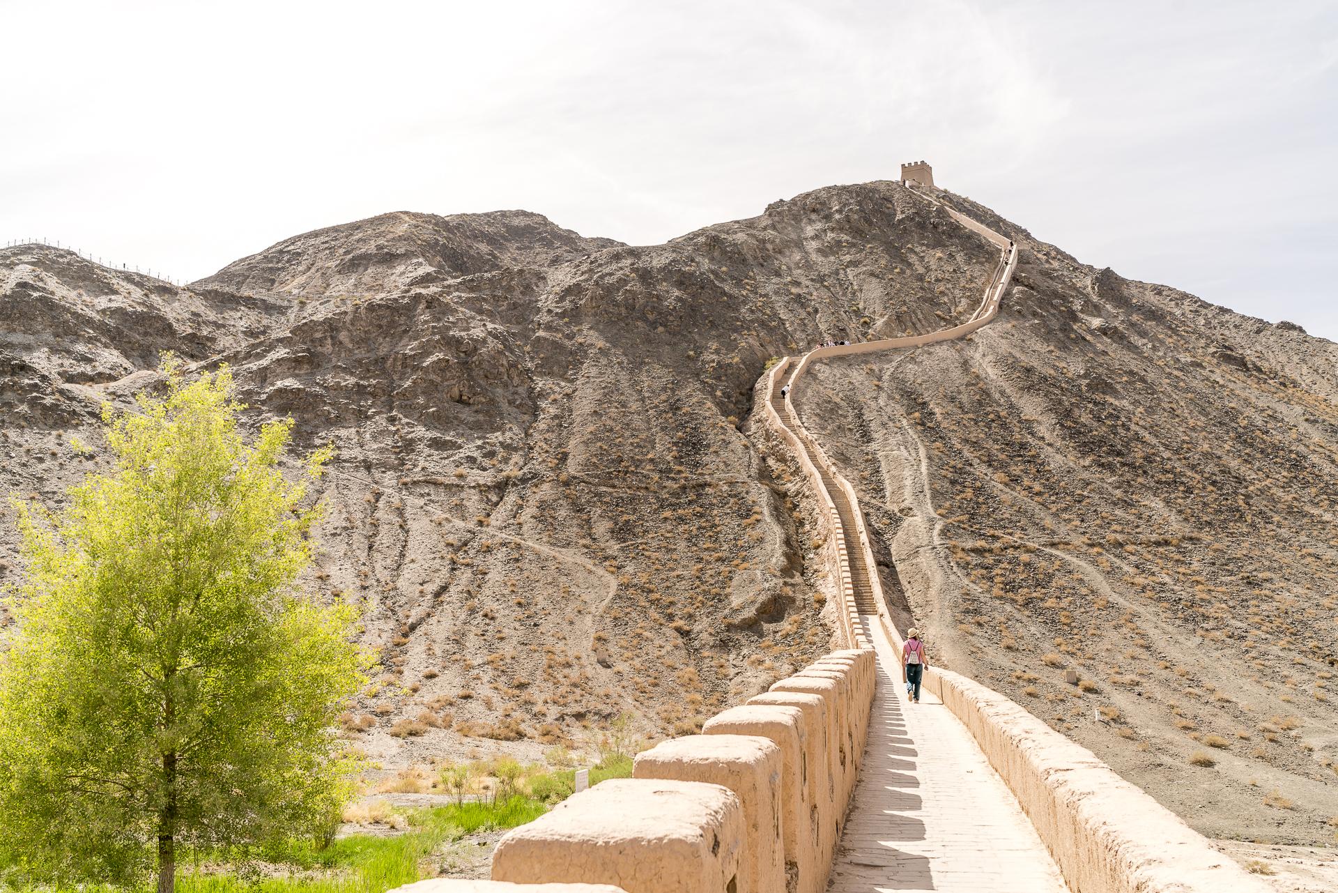 Jiayuhuan Great Wall