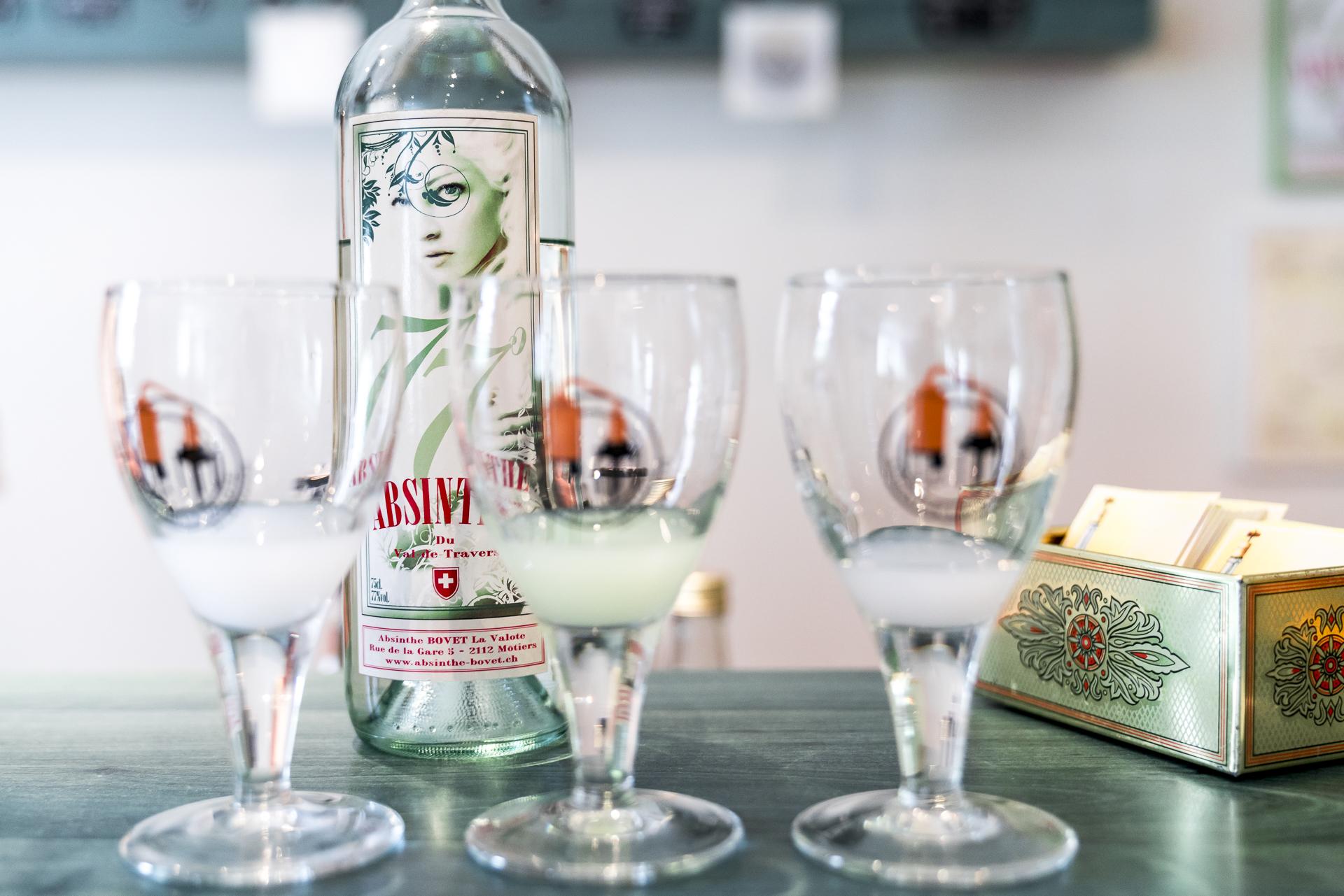 Absinthe Destillerie Bovet