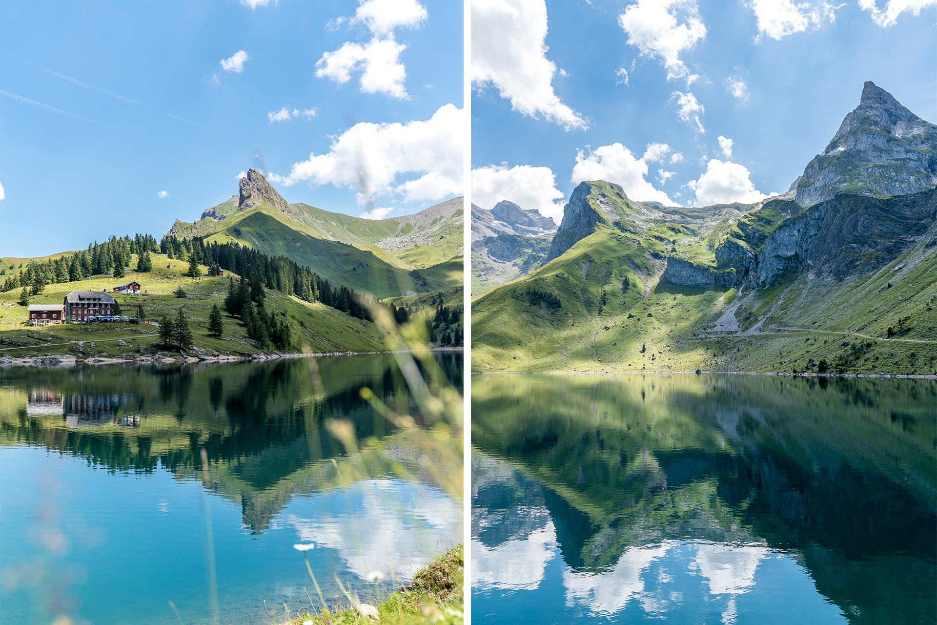 Bannalp See und Berge