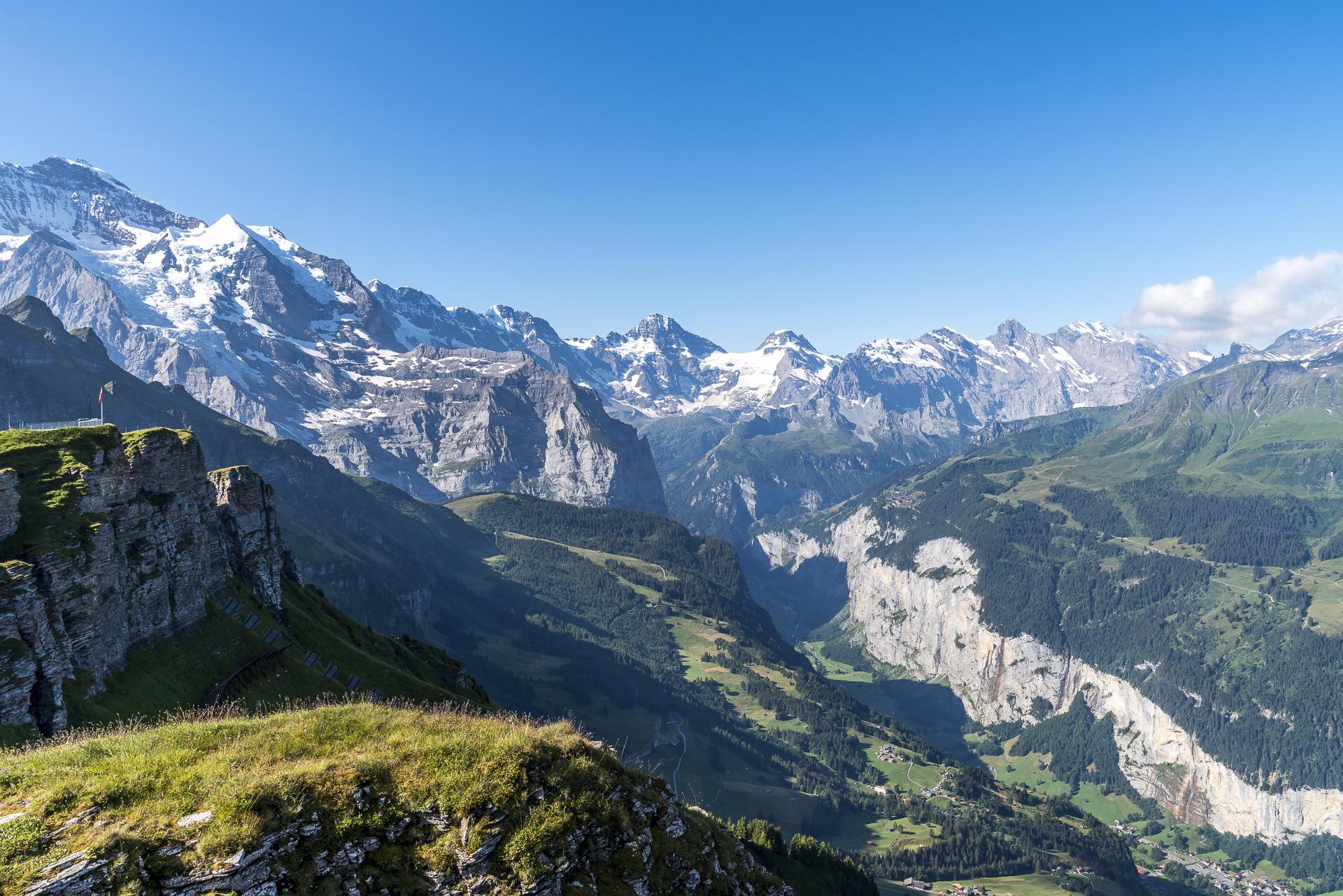 Bergstation Mönnlichen Aussicht