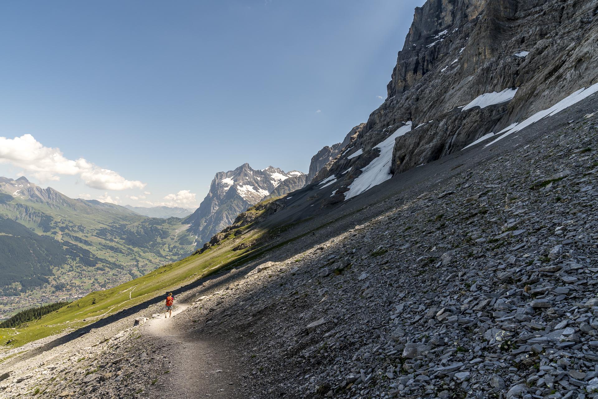 Eiger Trail Wanderung in Grindelwald
