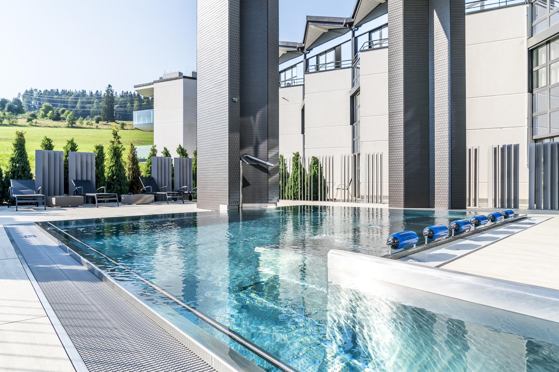 Grandhotel Les Endroits Pool