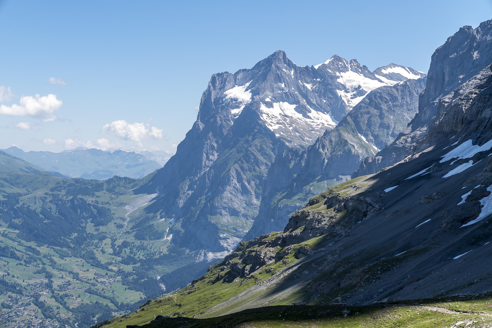 Wetterhorn und Grosse Scheidegg