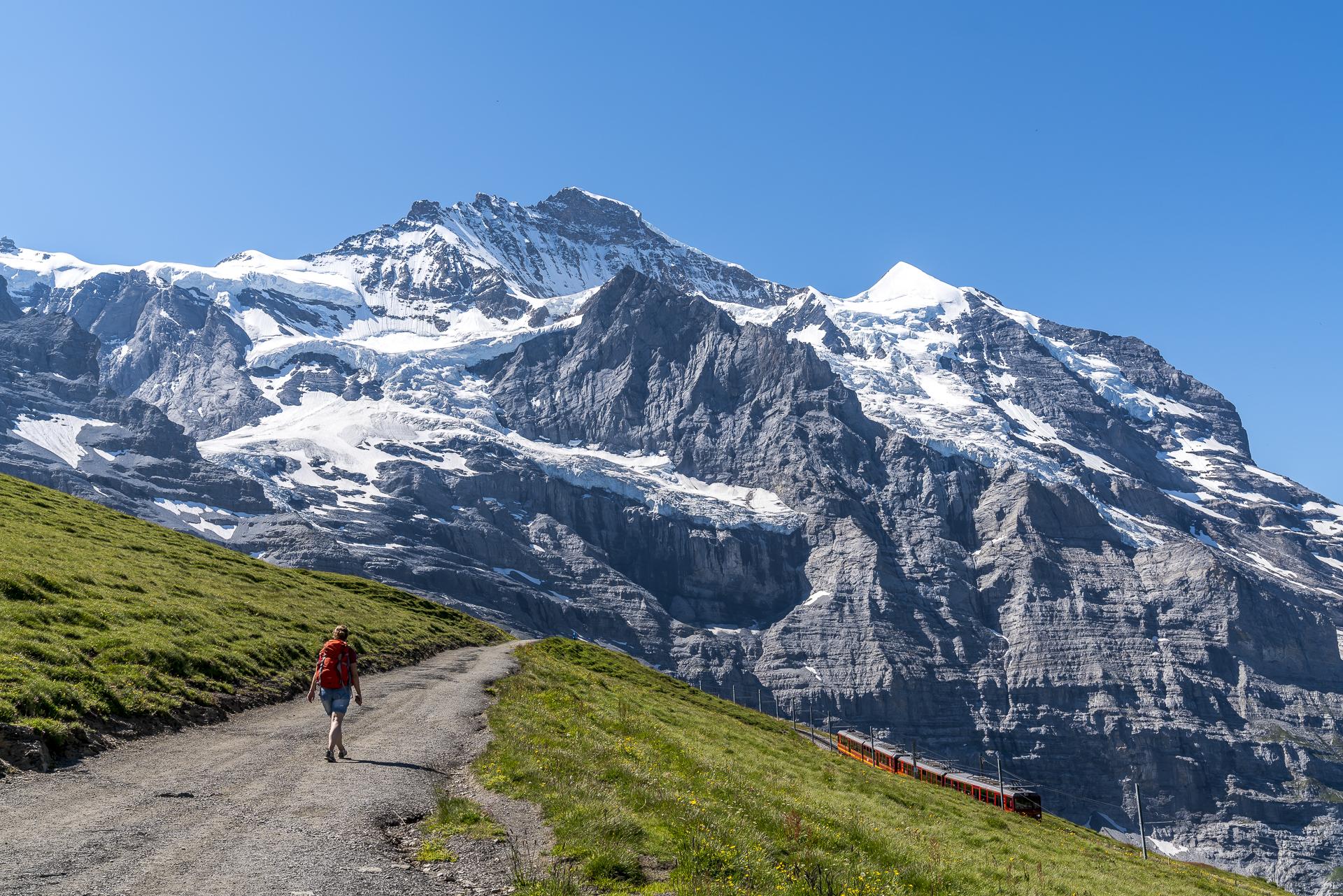 Aufstieg Eigergletscher